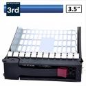 "HP G7 3.5"" SAS SATA Tray Caddy 373211-001"